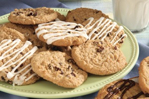 Photo of plate of cookies
